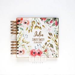 LILALU album kwiaty czerwone