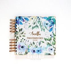 album niebieskie kwiaty
